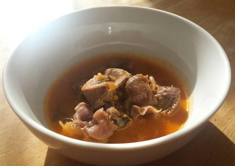 Chicken Gizzard Stew