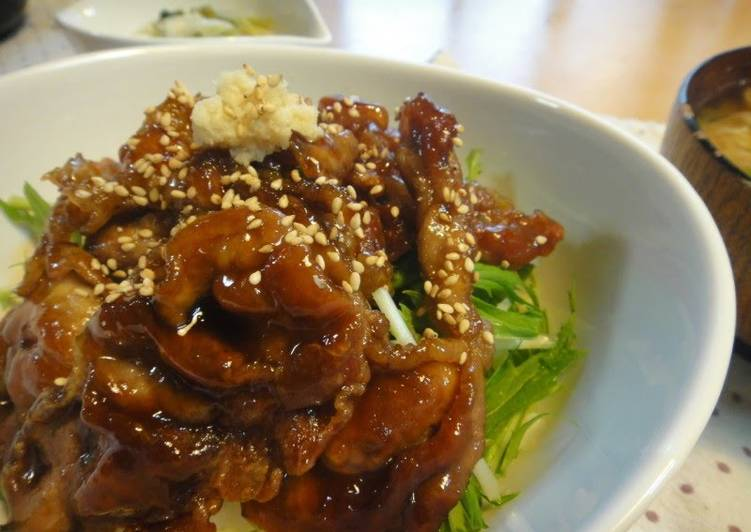 Your Health Can Be Effected By The Foods You Choose To Eat Crunchy Ginger Pork Teriyaki Rice Bowl