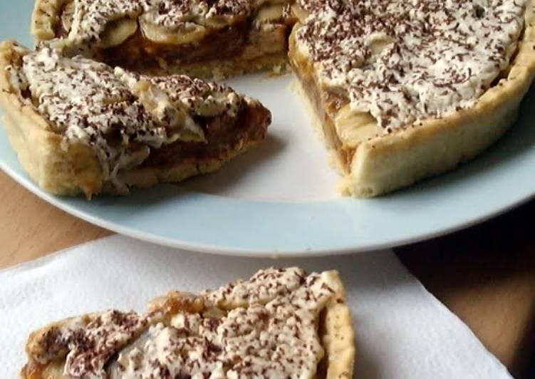 Vickys Quick Banoffee Pie, GF DF EF SF NF