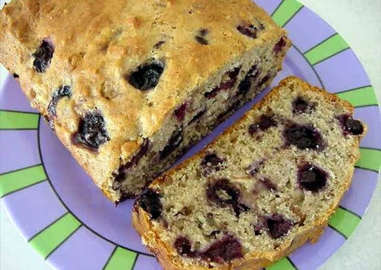 Stacy's Blueberry Banana Bread