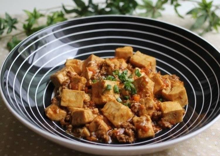 Easiest Way to Make Speedy Simple Mapo Tofu