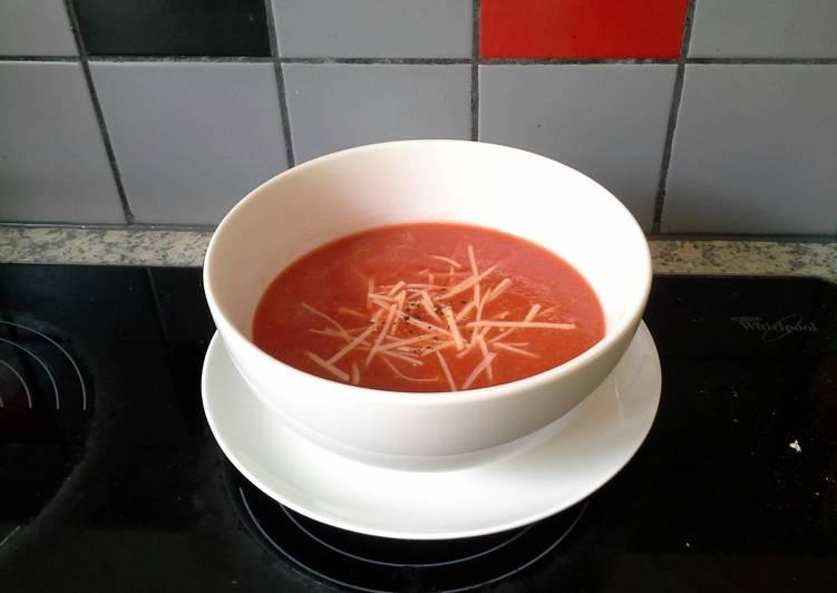 Recipe of Super Quick Homemade Easy Tomato Soup