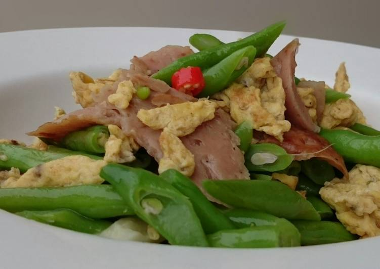 Consume These 14 Superfoods to Go Green for Better Health Green Bean With Spam And Egg