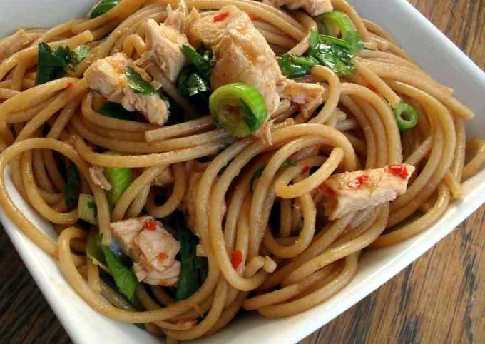 Steps to Prepare Quick Chicken Noodles by Aishi