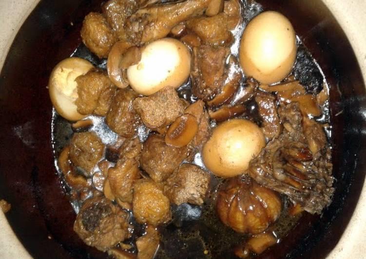 Crockpot Chi Kut Teh Soup . ( Asian )