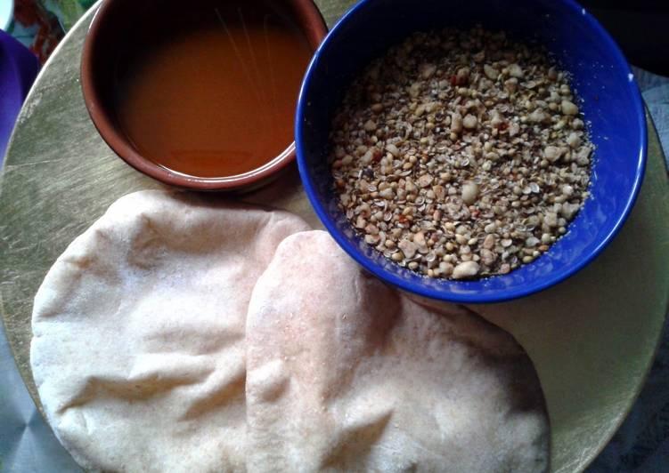 Recipe of Super Quick Homemade Egyptian Bread & Dukkah Dip