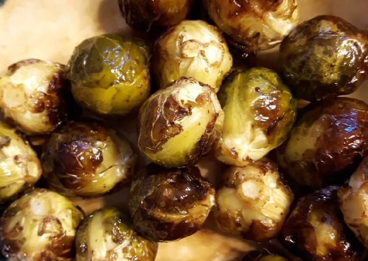 Recipe of Quick Oven Roasted Brussels Sprouts