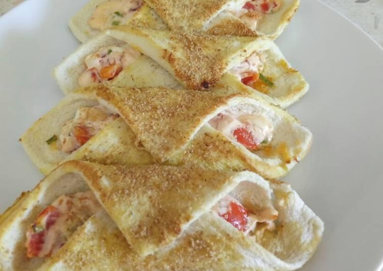 Cannelloni di pane bread cannelloni