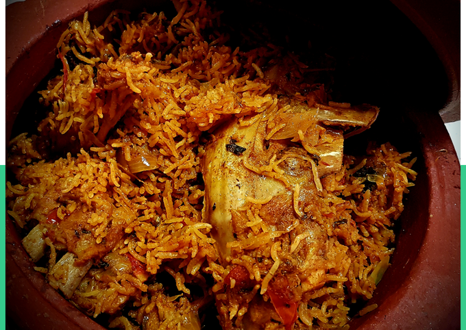 How to Prepare Award-winning Lamb Bone Biryani