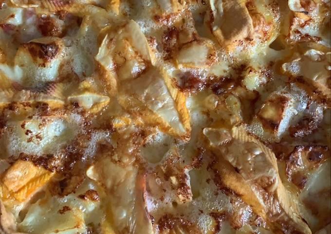 Tarte pommes de terre / lardons/reblochon au Thermomix