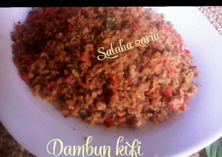 Homemade Dambun kifi