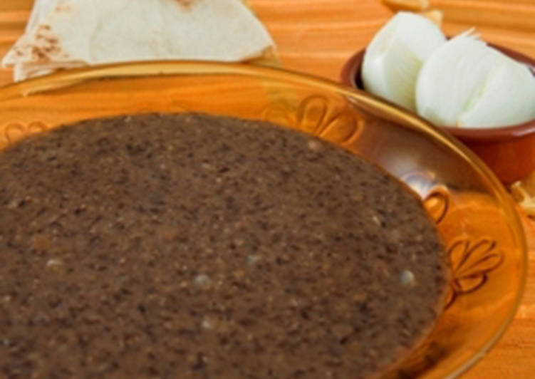 Easy Comfort Dinner Ideas Homemade Lentils and rice puree - mujaddara mussafayeh
