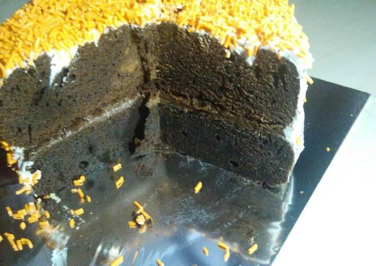 Brownis rice cooker bolu ulang tahun