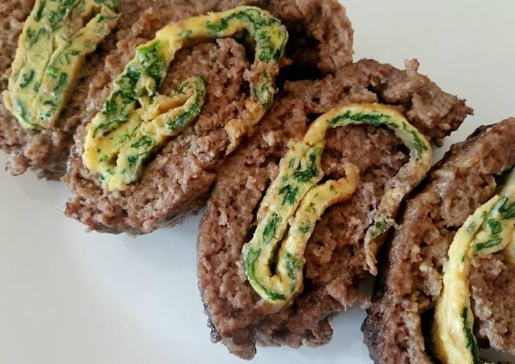 Recipe of Favorite Polpettone ripiene di frittata ai spinaci
