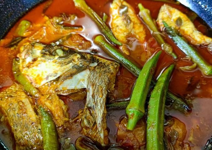 Resep Kari Ikan Merah Mamak Style (Tanpa Santan) yang Bikin Ngiler