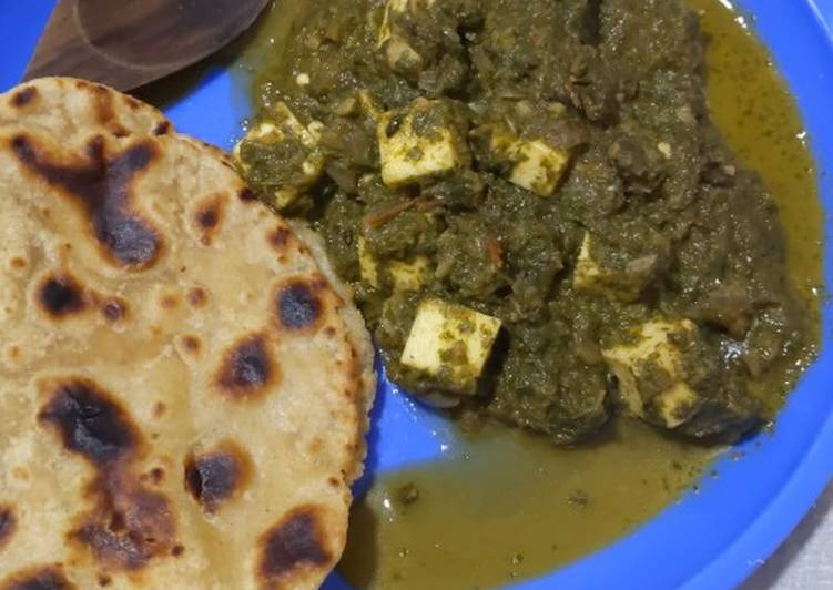 Recipe: Appetizing Palak Paneer