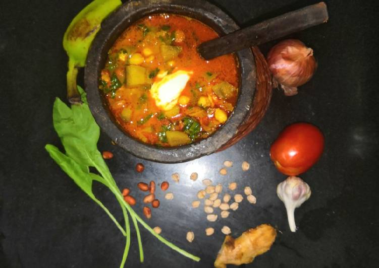 Grandmother's Dinner Ideas Autumn Leafy Legumes Veg Stew