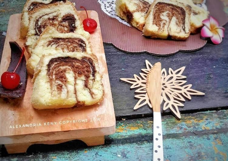Marmer Cake Jadul Baking Pan