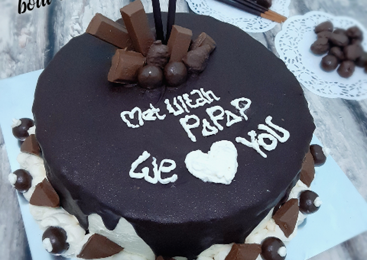 Bolu Tiramisu Kukus (Birthday Cake)