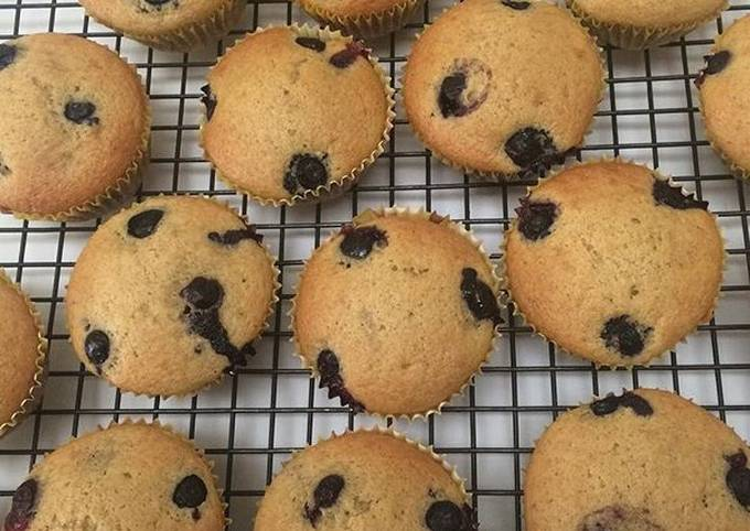 Easiest Way to Prepare Delicious Blueberry Muffins