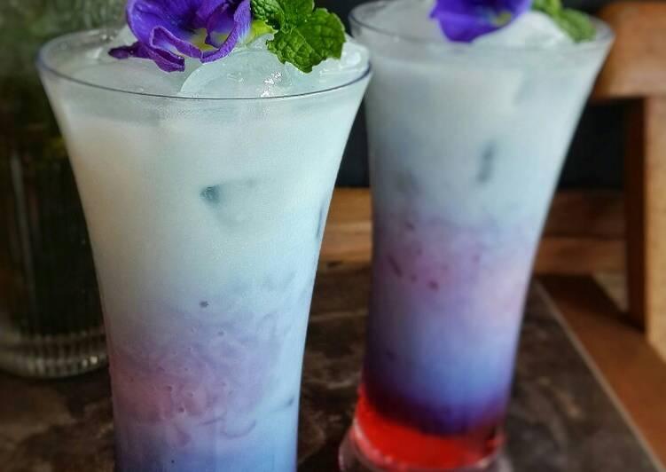 Susu Bunga telang Coco pandan