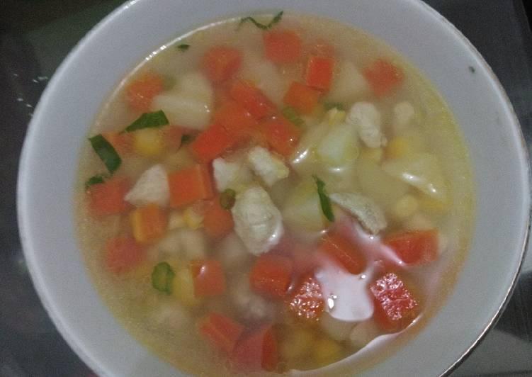 Resep Sop Ayam Ala Kfc Oleh Mei Mei Cookpad