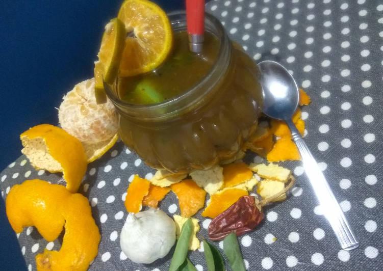 Orange Rasam - Soup