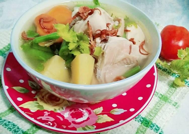 Sup Ayam Klaten Enak dan Simple