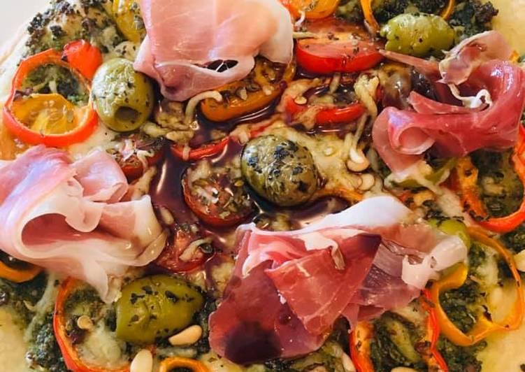 Pizza Antipasti di Primavera