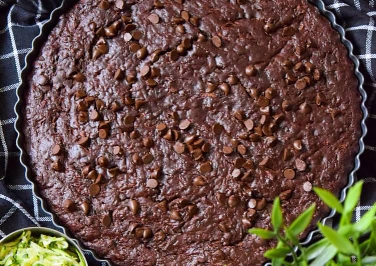 Recette De Gâteau de courgettes au chocolat