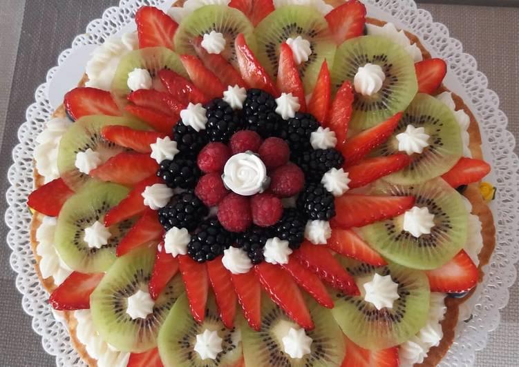 Ricetta Crostata alla frutta 😊