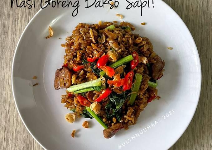 Nasi Goreng Bakso Sapi!
