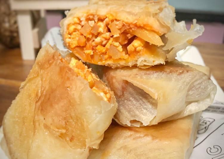 Resepi:  Roti Goreng Baghdad  Lazat