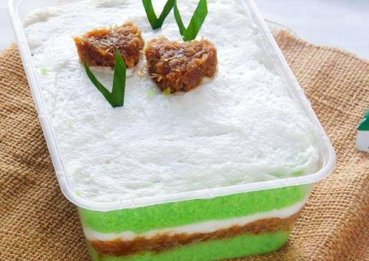 Cake Klepon Dessert Box - cookandrecipe.com