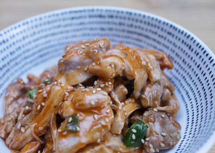 Easiest Way to Prepare Perfect Sweet sesame chicken