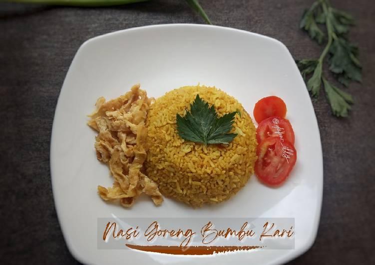 Nasi Goreng Bumbu Kari