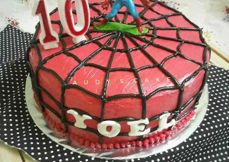 Resep Kue Ulang Tahun Spiderman Oleh Dewi Audy S Cookpad