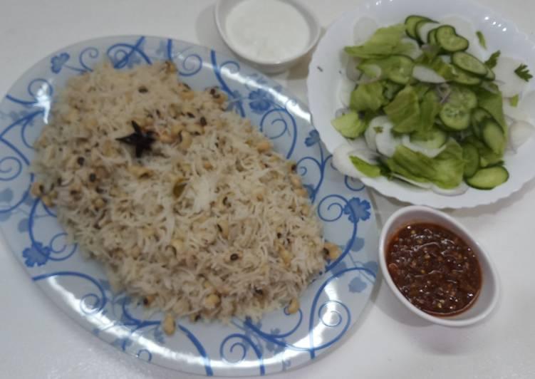 Recipe of Any-night-of-the-week Lobia pulao