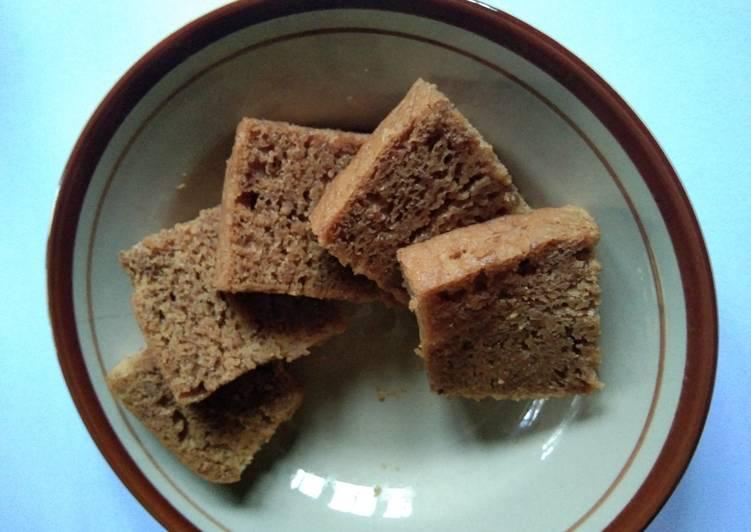 Kue Bolu Kacang Hijau Kukus Versi Warna Cokelat Menawan😏🙋