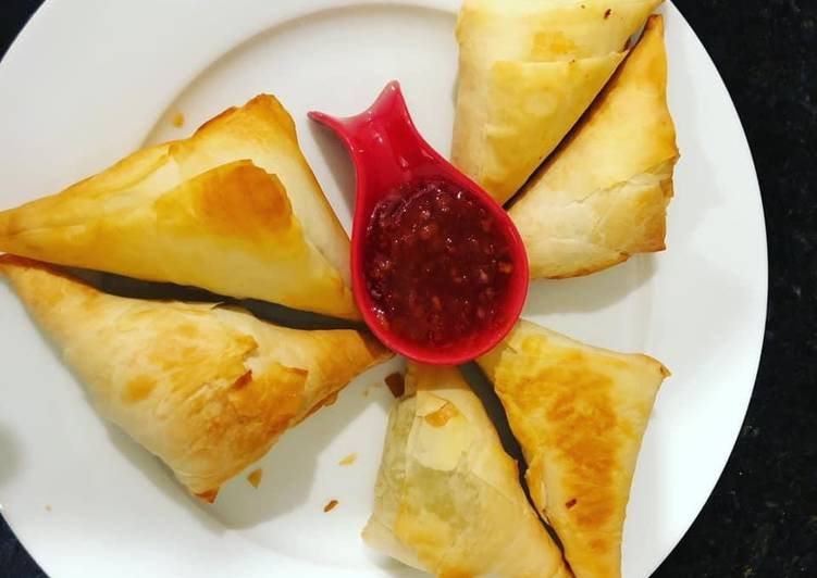 Easiest Way to Prepare Delicious Spinach filo