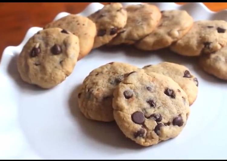 Easiest Recipe: Yummy Easy chocolate chip cookies with only 5 ingredients