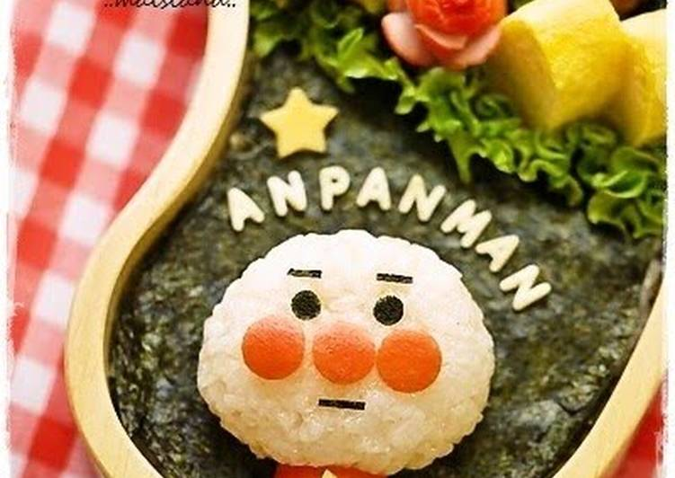 Living Greener for Better Health By Eating Superfoods, Finger Puppet Like Anpanman Character Bento