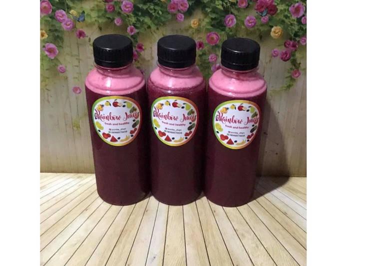 Diet Juice Banana Strawberry Beetroot Asparagus