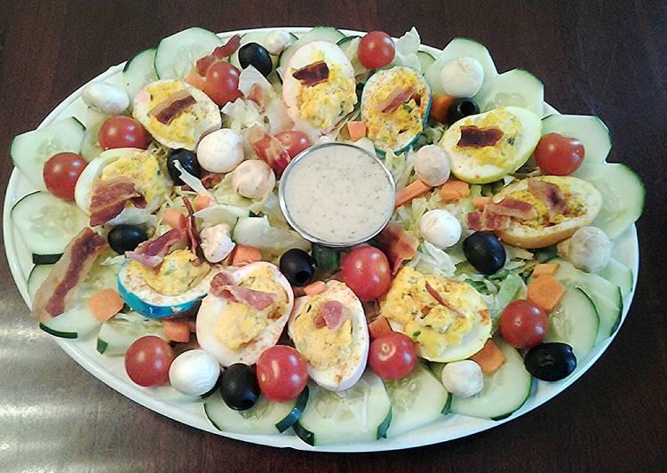Deviled Egg Easter Salad