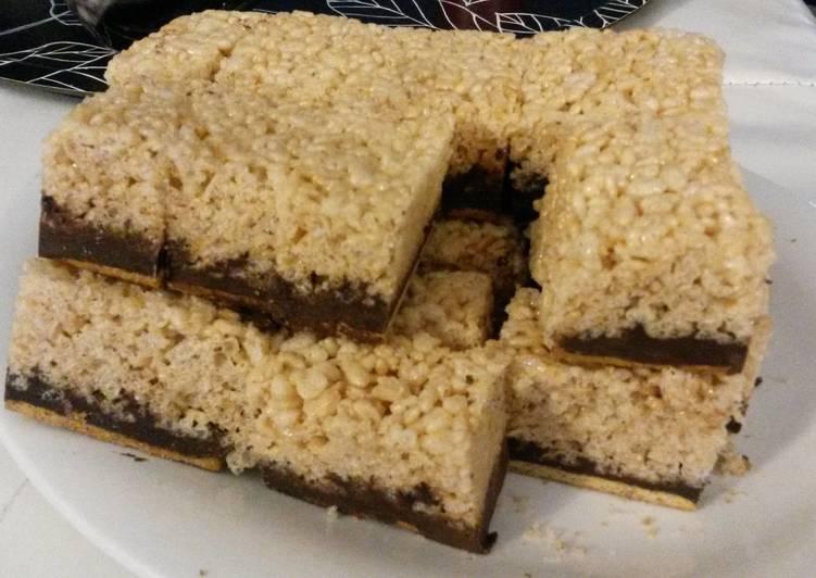 Peanut Butter Rice Crispie Smores