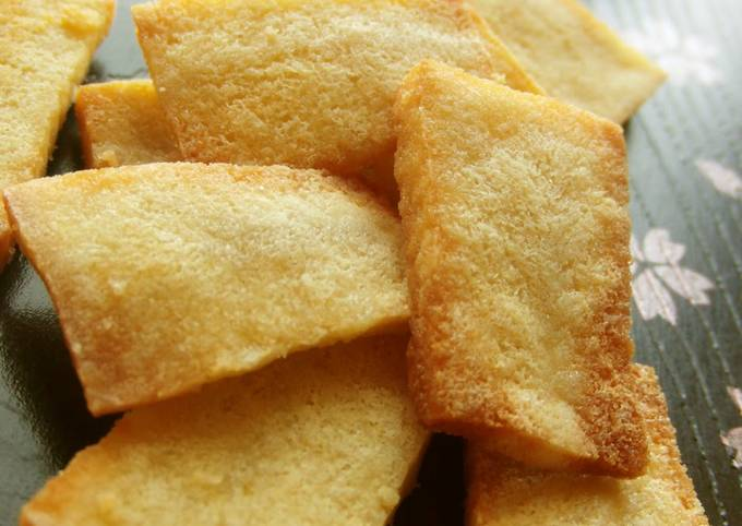 Low-Carb Crispy Koya Dofu Snack