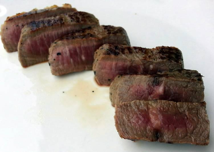 Pan Grill Round Eye Steak