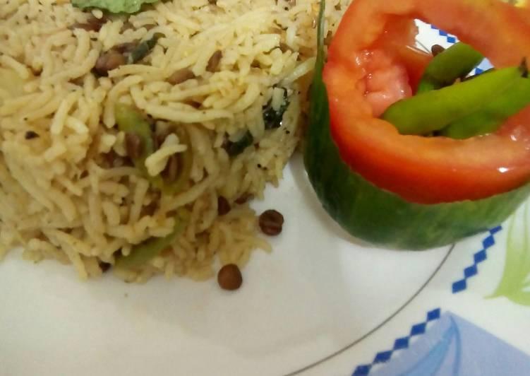 Lentil simple Rice