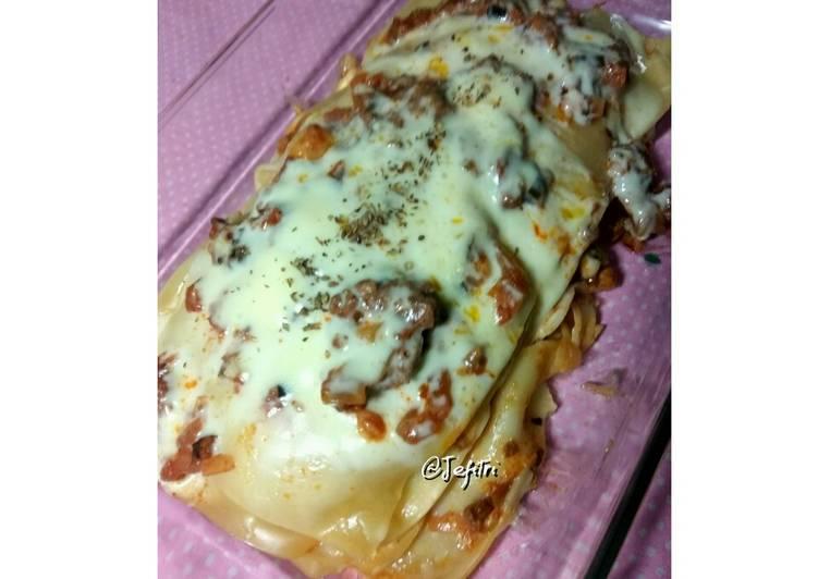 Resep Lasagna Teflon Oleh Fitri Djaelani Cookpad