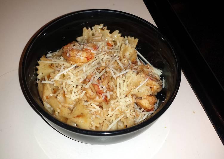 Recipe of Homemade Lemon shrimp scampi
